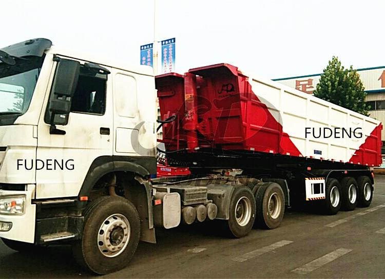 dump tipper trailer