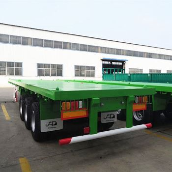 50Tons Flatbed Trailer For Sale