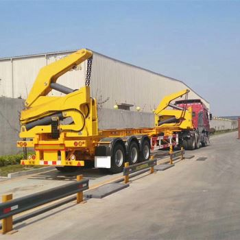 Side Lifter Container Trailer